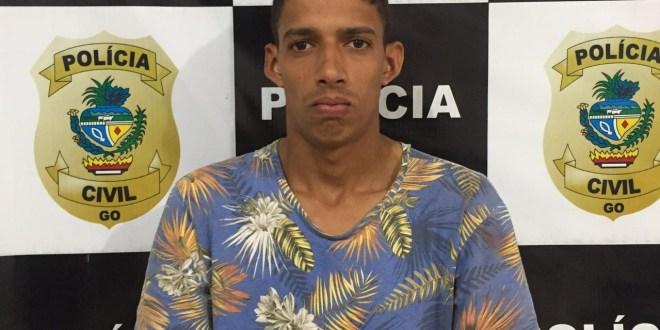 SUSPEITO DE ASSASSINAR O PROFESSOR SEBASTIÃO FOI PRESO PELA POLÍCIA CIVIL EM GOIATUBA