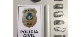 TRÁFICO DE DROGAS – Homem de 20 anos é preso pela PC sob suspeita de traficar drogas em Morrinhos