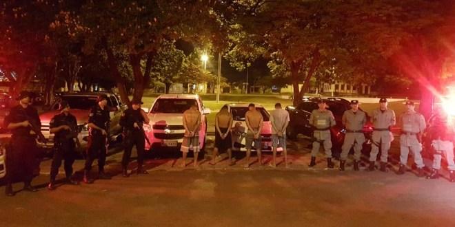 COD em ação: Policiais do Comando de Operações de Divisa recuperam carros roubados e prendem suspeitos