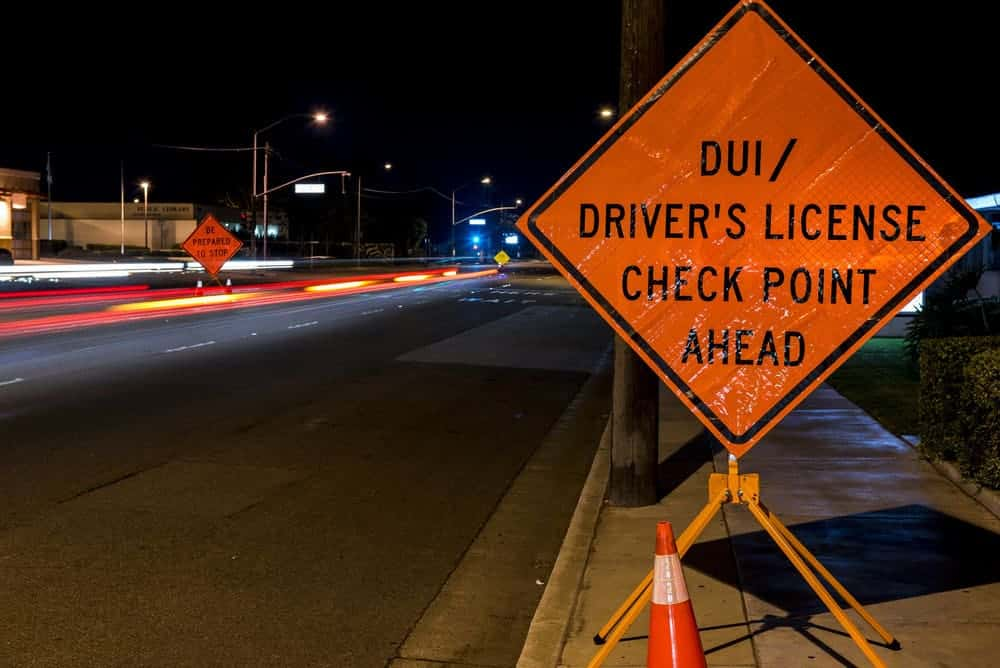 DUI Checkpoint Virginia