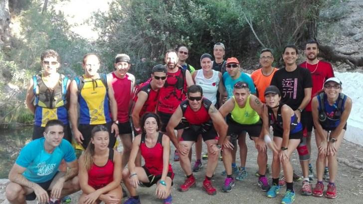 Entrenamiento Trail de Buñol