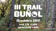 III Trail de Buñol – 15 Octubre 2017
