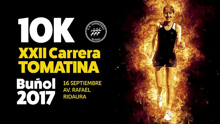 XXII 10K Tomatina Buñol – 16 Septiembre 2017