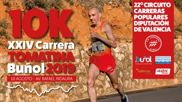 XXIV 10K Tomatina Buñol – 10 Agosto 2019
