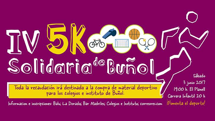 IV 5K Solidaria 2017 – 3 Junio 2017