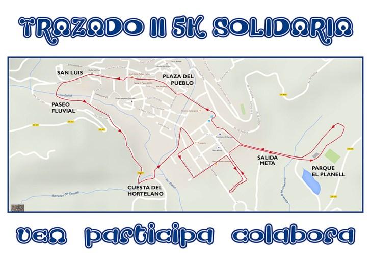 trazado III 5k solidaria