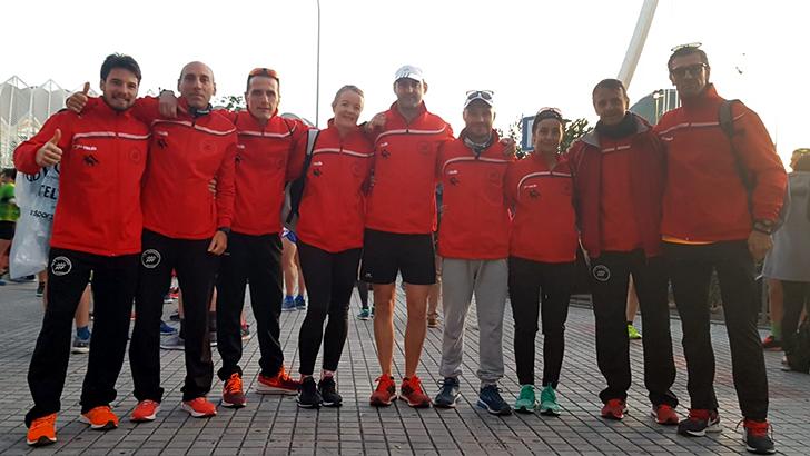 Maratón de Valencia Trinidad Alfonso