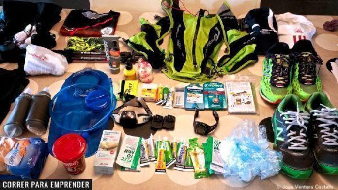 El material que de verdad necesitas para un ultra trail por Joan Ventura. Correrparaemprender