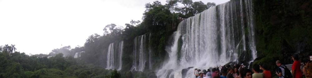 Ontem fui ver as Cataratas do Iguazú... (5/6)