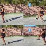 Exercícios dinâmicos de arrefecimento para corredores