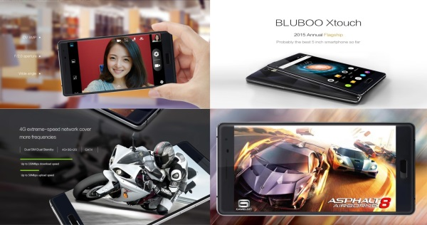 Smartphone BLUBOO XTOUCH