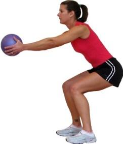 medicine-ball-squat
