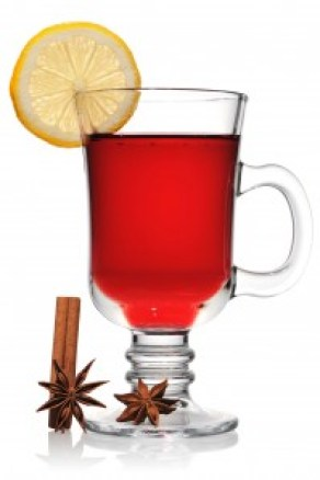 Chá de roioobos, laranja canela e mel