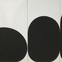 "Gary Kuehn ""Black painting, 2001"""