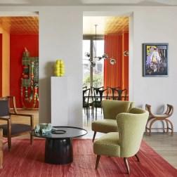 """Projeto do apartamento de Viena idealizado pela agência de arquitetura """"Kérylos Intérieurs"""""""