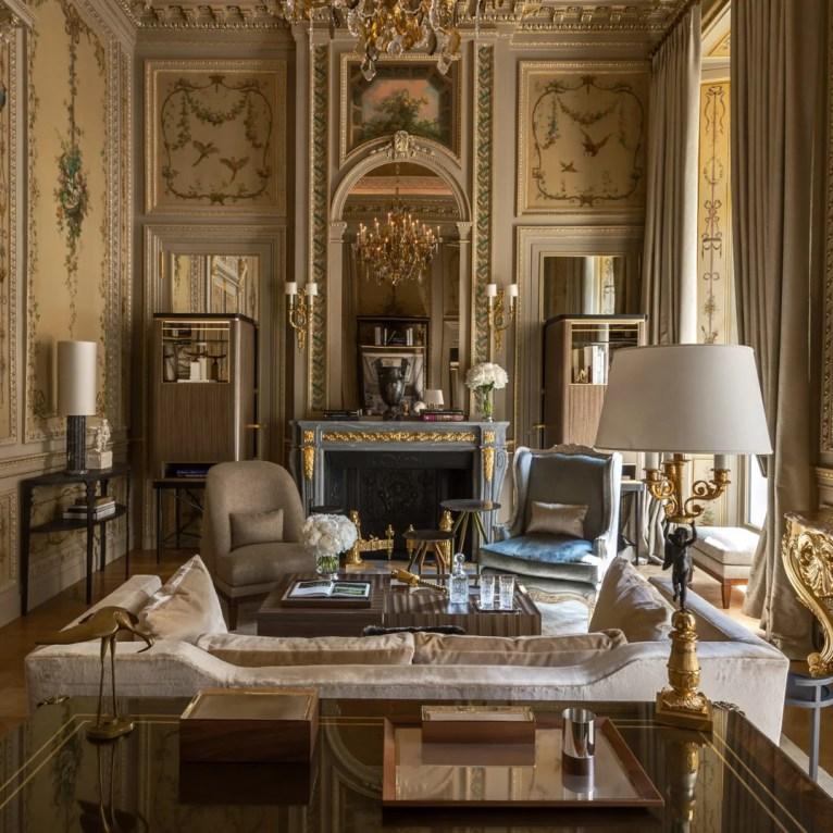 Suite Duc de Crillon no Hotel deCrillon, Rosewood Hotel