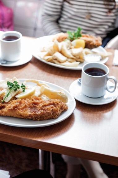 "Restaurante ""Rock and Sole Plaice"" em Londres"