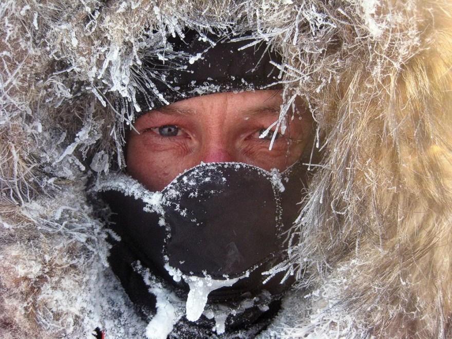 O homem das geleiras