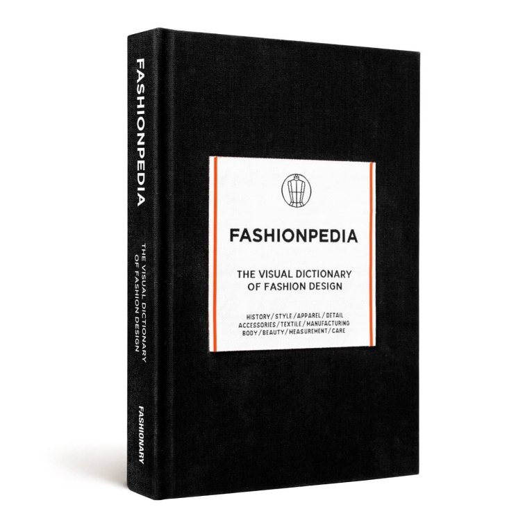 """Fashionpedia: The Visual Dictionary of Fashion Design"", da editora Fashionary"