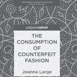 """The Consumption of Counterfeit Fashion"", da editora Palgrave"