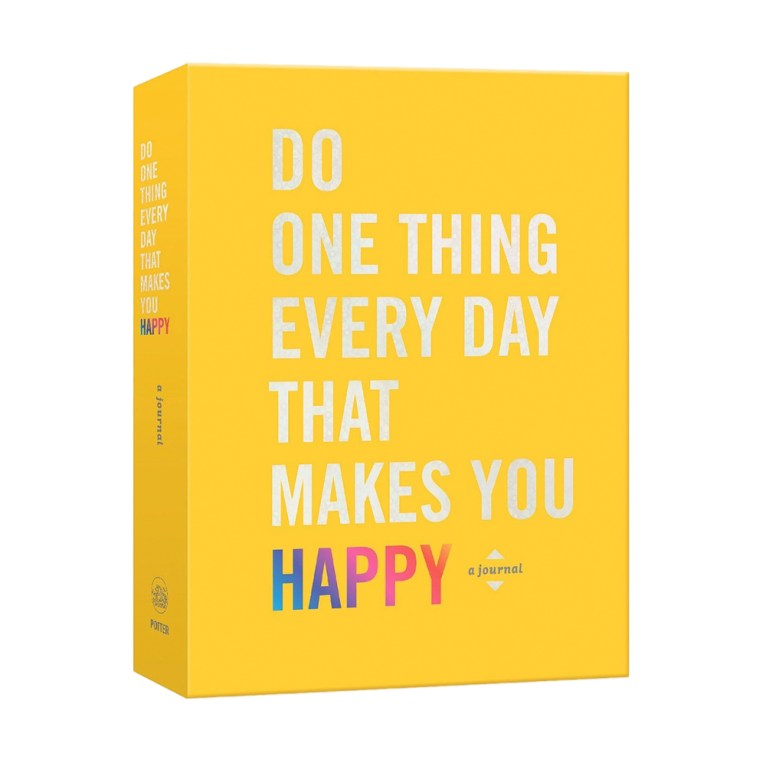 Do one thing a day that makes you happy