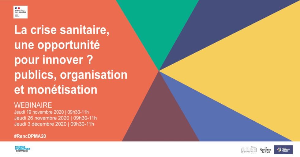 {REPLAY] La crise sanitaire, une opportunité pour innover ? Restitutions du Webinaire organisé fin 2020