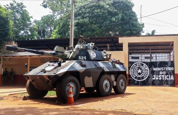 PARAGUAY-BRAZIL-PRISON-SECURITY