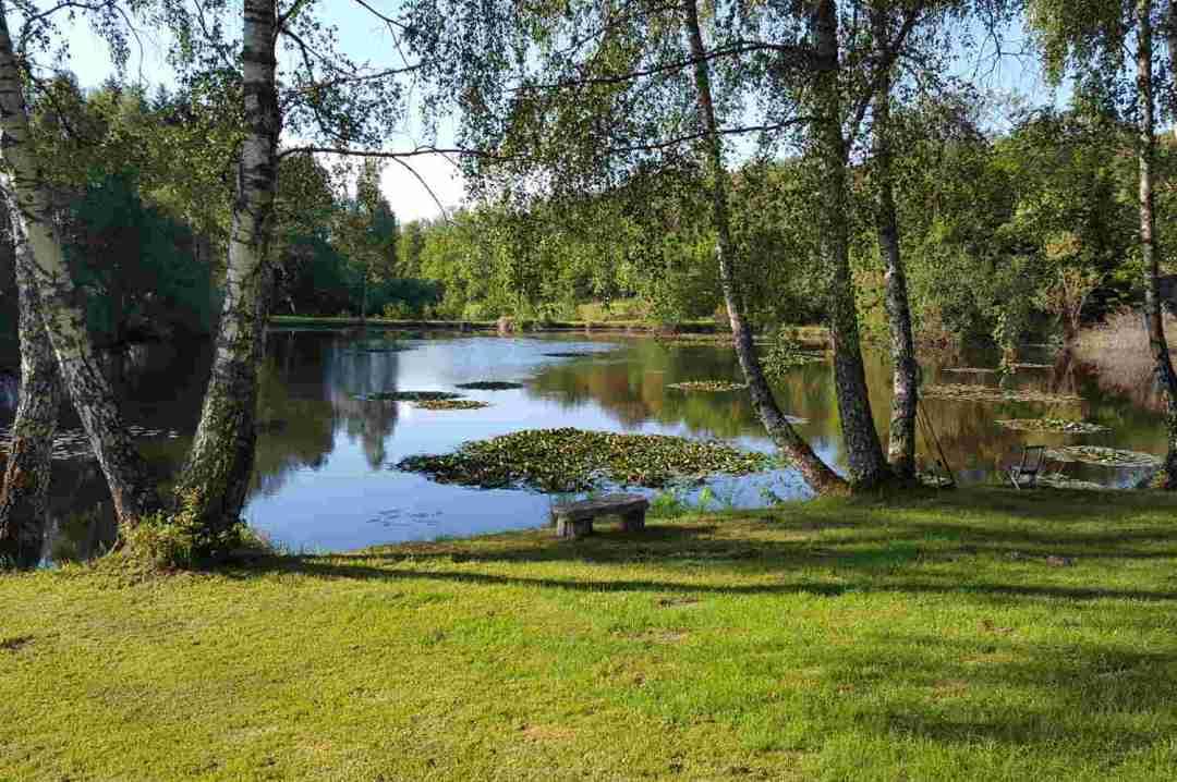 Lake in Correze Cycling Holidays France
