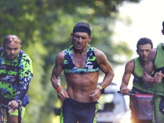 Ivan Albano Júnior conquista o tetracampeonato da UB515 Brasil Ultra Triathlon em 2019. (Sandra Guedes:Divulgação)