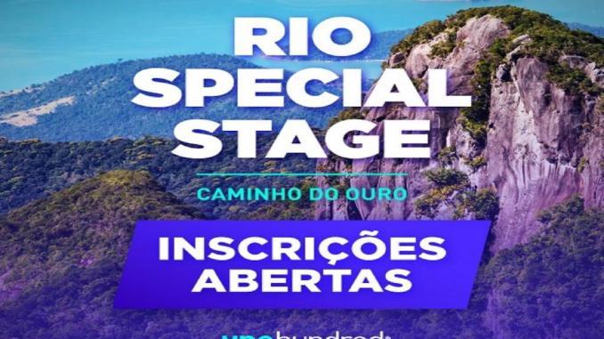 Rio Caminho do Ouro Special Stage será em 14 de agosto, na cidade de Paraty, no Rio de Janeiro, com premiação para os melhores colocados