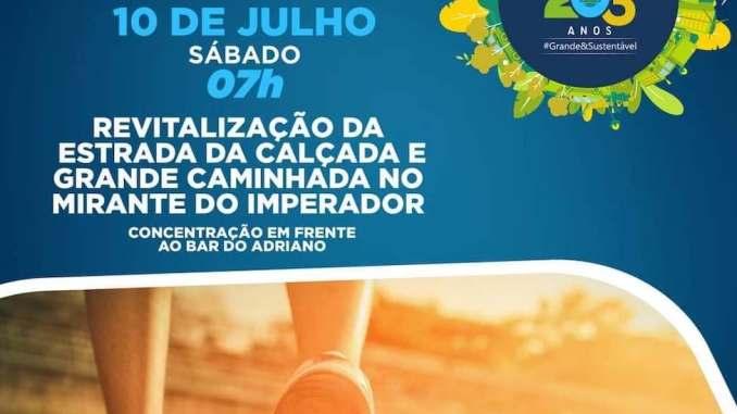 Itaguaí promove caminhada por seus 203 anos, neste sábado (10/7)