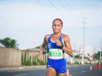 Graciete Santana teve como ponto alto da carreira as Olimpíadas do Rio, em 2016. (Arquivo pessoal)