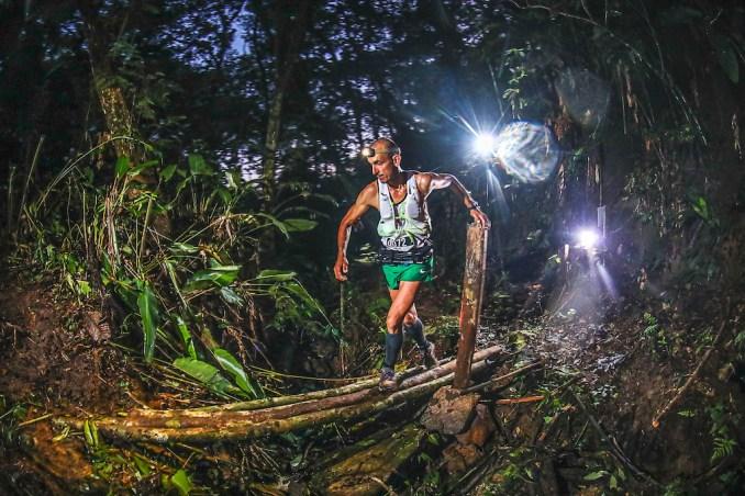 Celio Augusto, campeão dos 104km da Mons Ultra Trail. (Emanuel Galafassi:Divulgação)