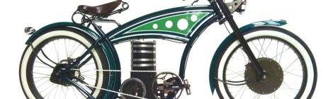 eBike B4 E-Cruizer, chopper a pedalata assistita