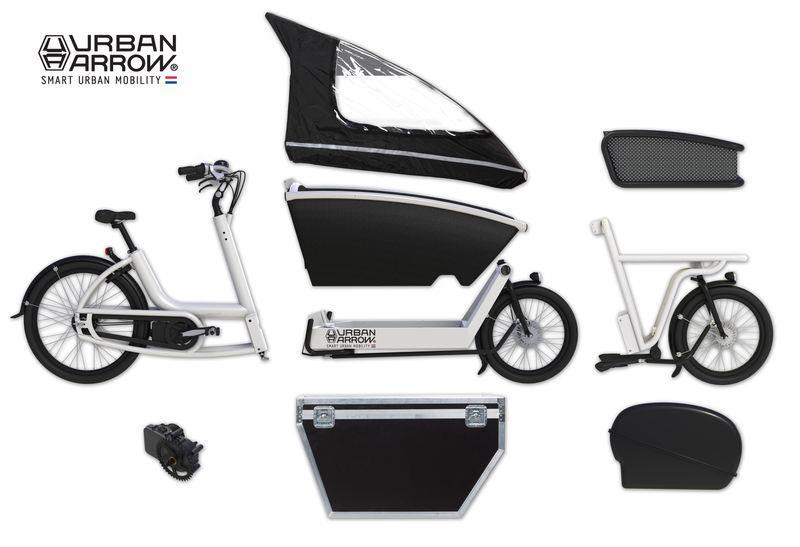 Urban Arrow cargo bike pedalata assistita