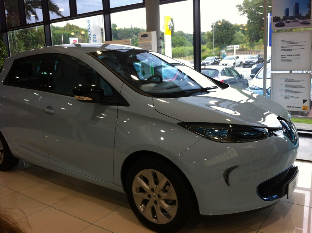 Renault Zoe - Autovettura elettrica