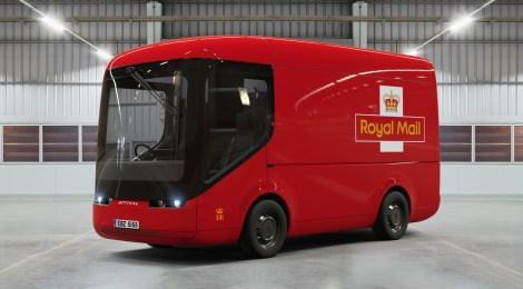 Royal Mail sperimenta i furgoni elettrici per le consegne
