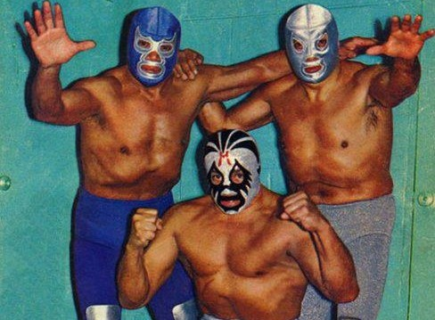 El Santo - Blue Demon - Mil Mascaras (The Big Three)