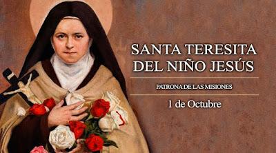 Fiesta patronal en la parroquia Santa Teresita del Niño Jesús