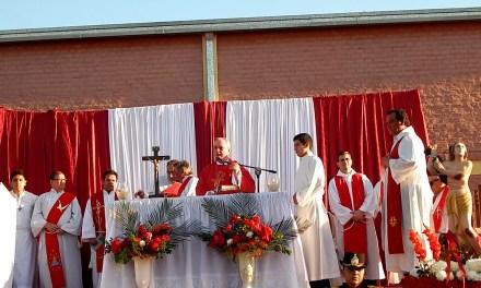 Festividad de San Pantaleón en su Santuario del barrio Laguna Seca
