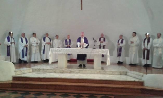 Mons. Stanovnik Presidio en la Apertura  de la Junta Nacional de Pastoral Familiar 2018