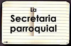 SABADO 16: Se realizará el primer taller de secretarias parroquiales