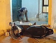 La scena dell'agguato (Pressphoto)