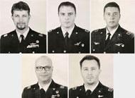 I cinque militari morti a Pisa