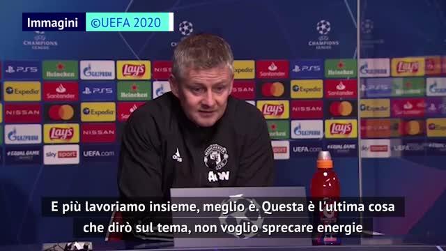 """Solskjaer attacca Raiola: """"Il calcio è un gioco di squadra"""""""