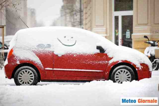Neve ancora nel weekend fino a quote basse