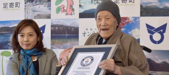 È morto in giappone l'uomo più vecchio del mondo, aveva 113 anni