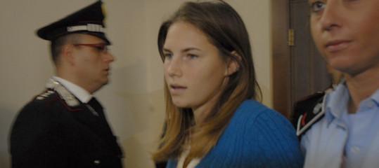Le accuse di AmandaKnoxalla polizia italiana