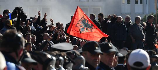 albania proteste