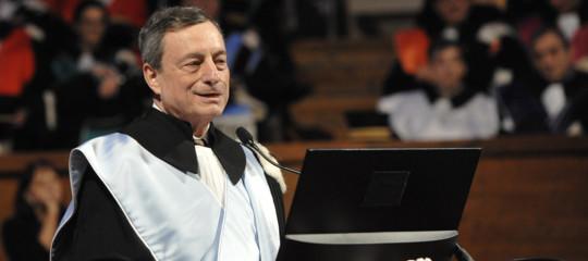 Il messaggio di Mario Draghi aisovranisti